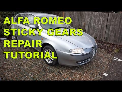 Alfa Romeo 147, 156 Sticky Gears Repair Tutorial