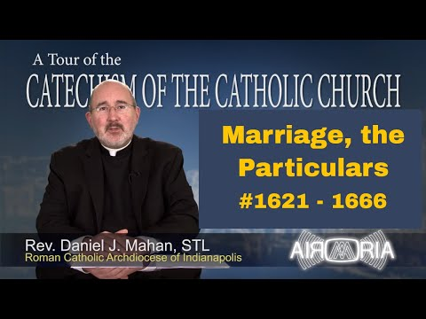 Tour of the Catechism #55 - Marriage, the Particulars