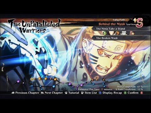 Naruto Shippuden Ultimate Ninja Storm 4 EP 1 [Two Unparalleled Warriors] |