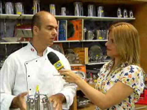 Chef mostra como escolher bons utens lios de cozinha youtube - Utensilios de chef ...