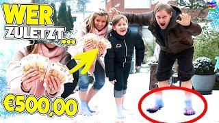 Wer ZULETZT den EISIGEN SCHNEE verlässt bekommt €500,00 🤣 Frozen TipTapTube 😎