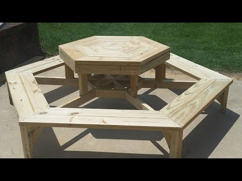 How To Build A Cheap Wood Picnic Table - A Complete Gui ...