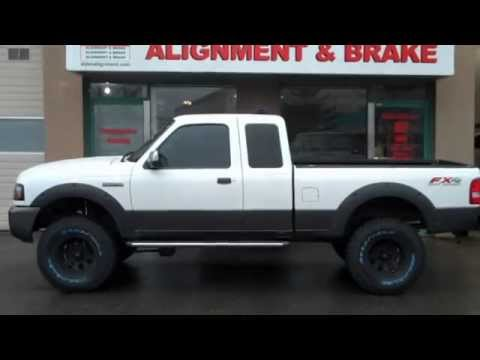 superlift 3 4 lift 2007 ranger 4x4 at dales auto service - Lifted 2008 Ford Ranger