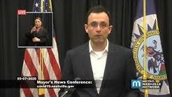 Mayor John Cooper, public health officials give an update on the coronavirus