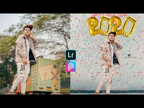 Happy New Year 2020 Photo Editing Tutorial In Picsart Step By Step - Virtual Editz