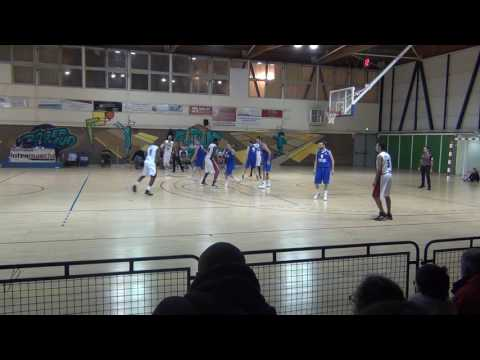 RODRIGUE MONGE (Poste 2/3 Saint Laurent N3) vs Frontignan N3