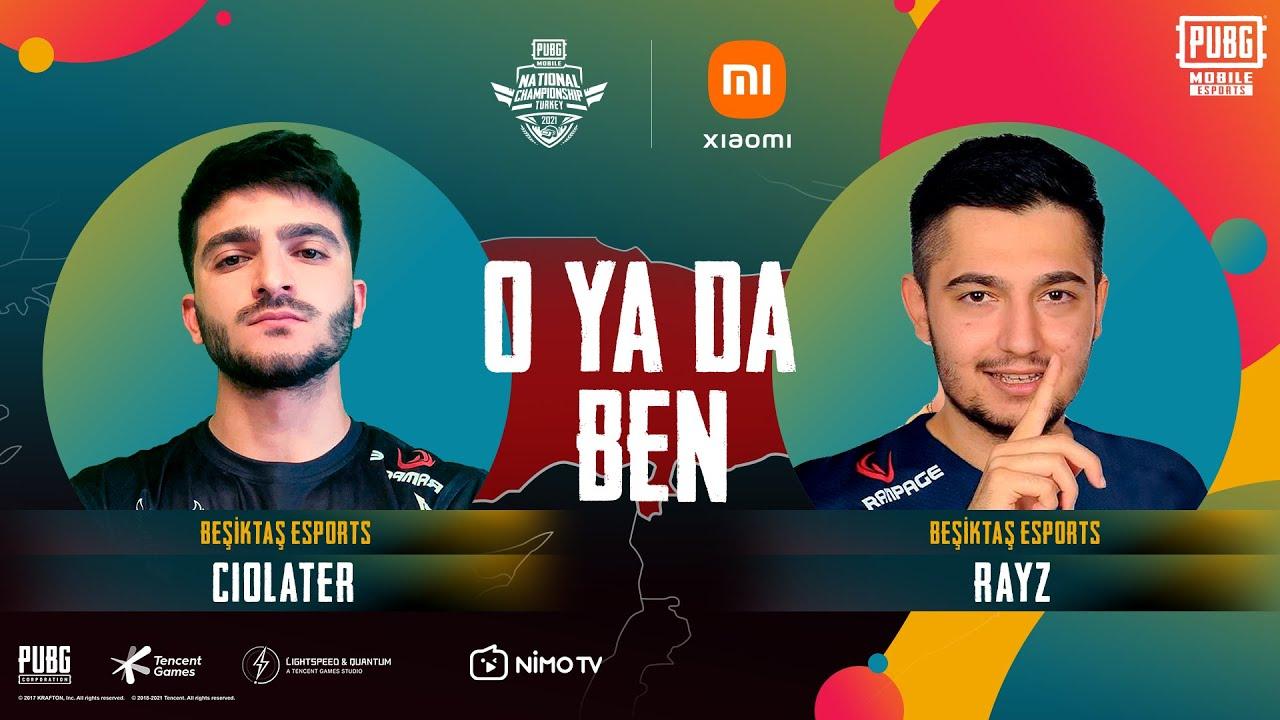 PUBG MOBILE National Championship Turkey | O ya da Ben