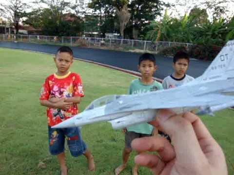 เอฟ-16 เครื่องบินกระดาษ จิ๋ว