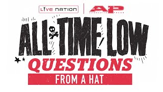 Rapidfire Questions: ALL TIME LOW