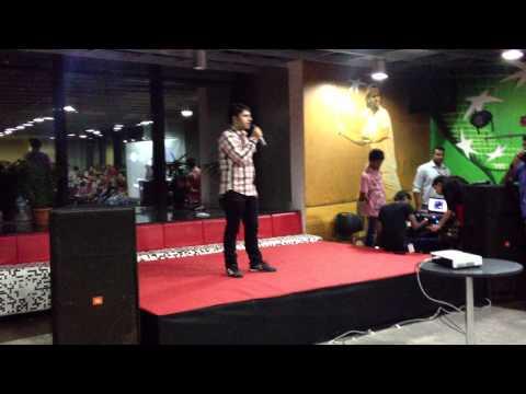 Vivek's Performance at Karaoke Evening BNP Paribas