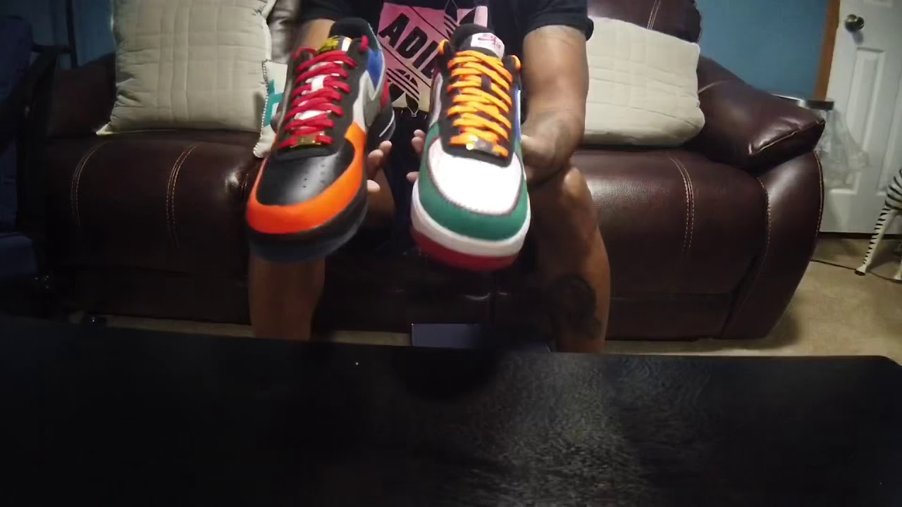 """Nike Air Force 1 """" City of Athletes """" aka """" What the AF1"""" aka """" What the Uptown"""""""