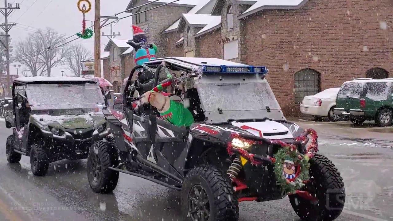 12 13 2020, Forsyth, Missouri   Snow During Annual Christmas