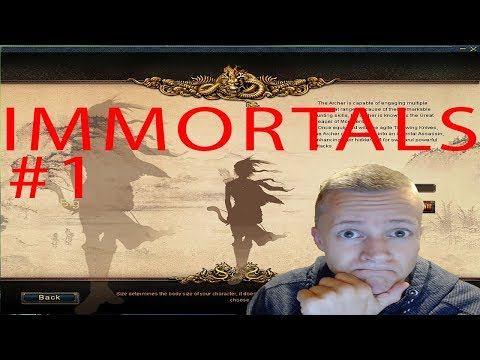 CONQUER ONLINE PRIVATE SERVER - IMMORTALS EP 1 GETTING STARTED