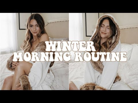 WINTER MORNING ROUTINE    NOEL LABB