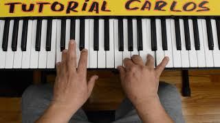 El Señor Es Mi Pastor Danilo Montero Piano Tutorial Carlos