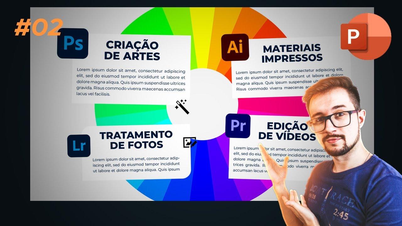 Portfólio: animando a segunda parte no PowerPoint #02