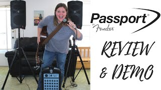 Fender Passport PA Sound System Review | How the Fender Passport System Sounds | Rustic Songbird