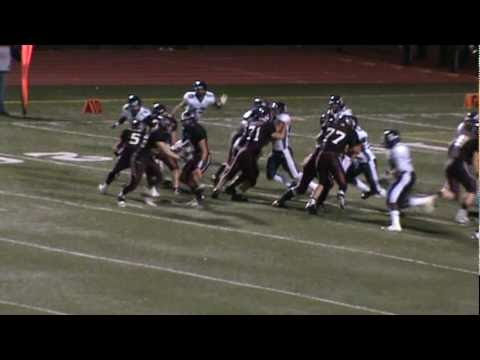 Utica Ford QB Mike Saba runs for TD after eluding Stevenson pass rushers
