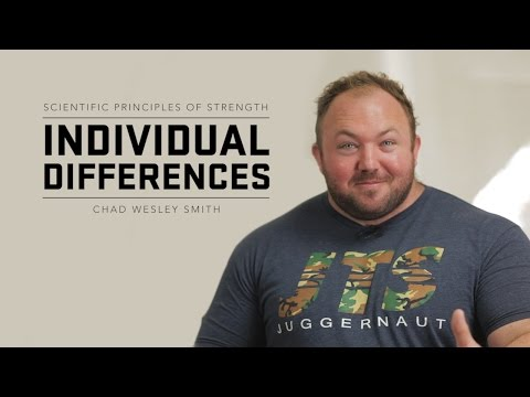 Individual Differences | JTSstrength.com