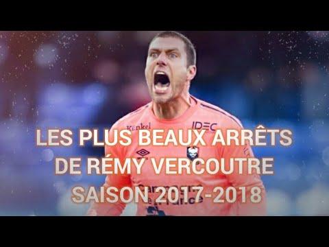 TOP 10 DES PLUS BEAUX ARRÊTS DE RÉMY VERCOUTRE SAISON 2017-2018 (vol. 2)