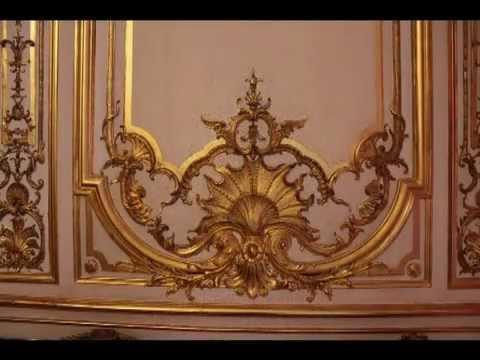 Hôtel De Soubise ,Paris  - Gilded ornamental detail