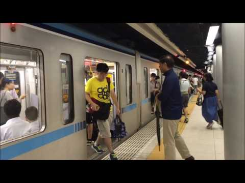 Tokyo Metro // Tozai Line // Otemachi Station Walkthrough // September 2016