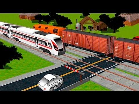 Мультики Для детей про поезда и паровозики Мультики для самых маленьких развивающие Видео Для детей