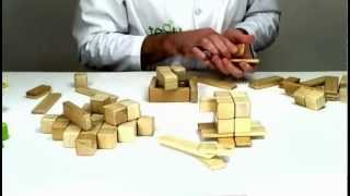 Wooden Toys From Tegu - Building An Afternoon Tea Set