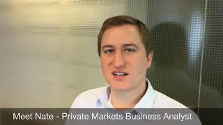 Meet Nate SWIB's Private Markets Business Analyst
