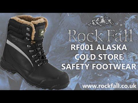 5ad1314a311 Rock Fall RF001 Alaska Thermal Freezer Boots Ultimate Safety Footwear
