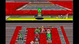 Super Mario Kart - Mushroom Cup (100 CC) - Part 1