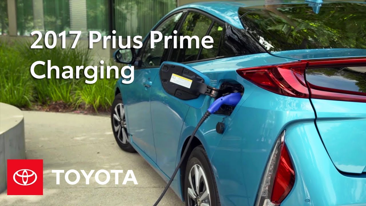 Toyota How To 2017 Prius Prime Charging