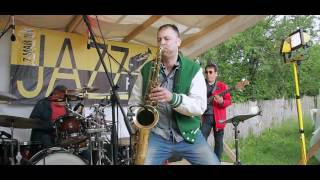 X Key-The Move On Up / Richard Elliot Cover/ Maslinovo Jazz 2016 маслиново джаз