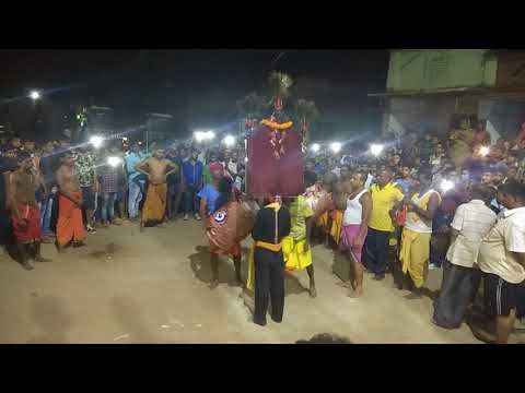 Maa kali Dance at Dandayatra-G.Nuagam,Bhanajanagar,Ganjam