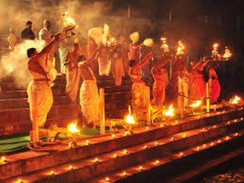 Godavari pushkaralu aarati in the night