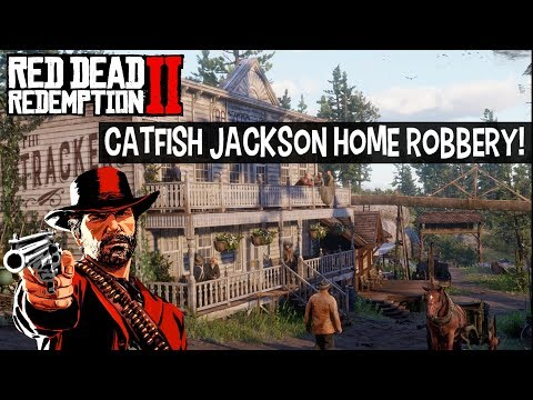Red Dead Redemption 2 - Catfish Jackson Home Robbery Location Breaking And Entering