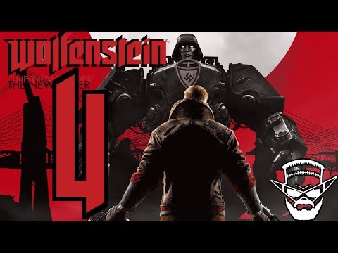 NÁCKOBOTI ! - Wolfenstein New Order / 1080p 60fps / CZ/SK Lets Play / # 4