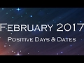 Positive Days and Dates for all Zodiac Signs | February 2017 | Astrological Calculations