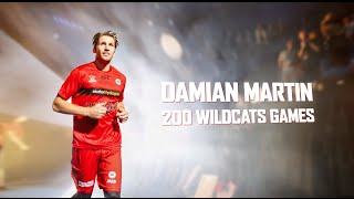 Damian Martin 200 Perth Wildcats Games
