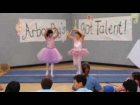 2016 Arbor Bay School Talent Show -- Haydi and Selina ballet