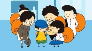 児童虐待防止「OSEKKAIが子供を救う」(音声なし・字幕あり)