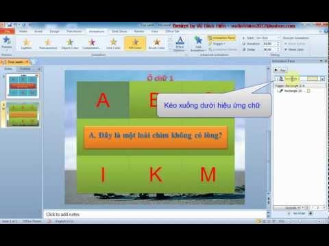 [Adm_hien] Hướng dẫn làm trò chơi ô chữ bằng powerpoint 2007-2010