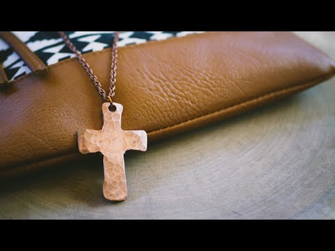 Making A Cross Pendant (Forging With Jess)