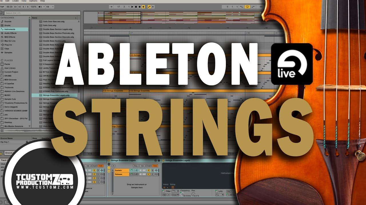 Ableton Live (9+10) missing instruments (factory library) | AudioSEX