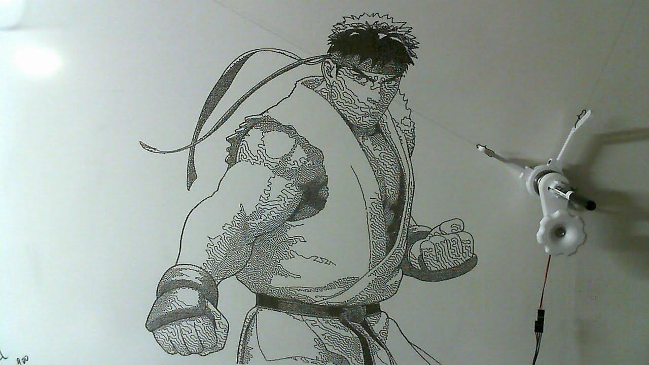 gocupi drawing ryu youtube