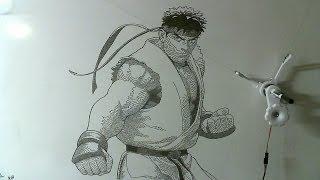 gocupi - drawing Ryu