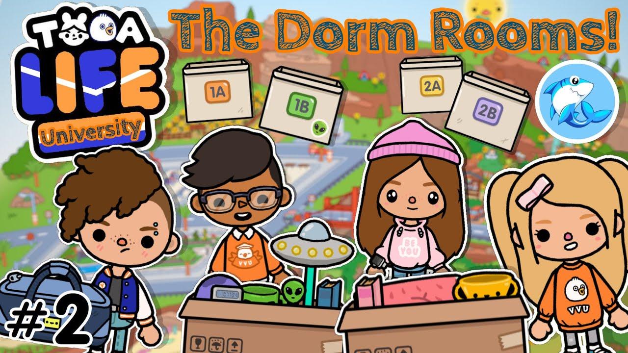 Toca Life University | The Dorm Rooms #2