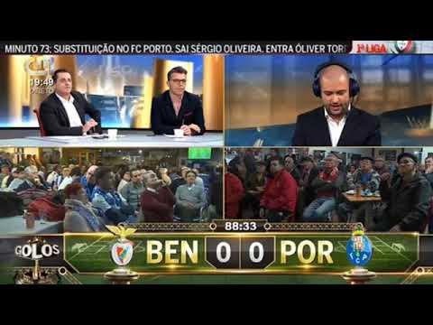 SL BENFICA X FC PORTO - GOLO DE HÉCTOR HERRERA AOS 90 MIN | CMTV