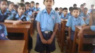 spoken english class STD V