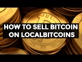 HOW TO SELL YOUR BITCOIN (Step by Step Beginner Guide)